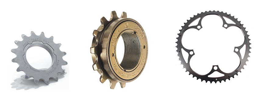 Singlespeed / Fixedgear ratio bepalen